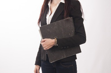 woman stepping into manager role