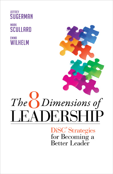 8 Dimensions of Leadership book cover