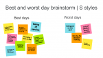 Best day - worst day for the S style