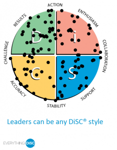 Leaders can be any DiSC style