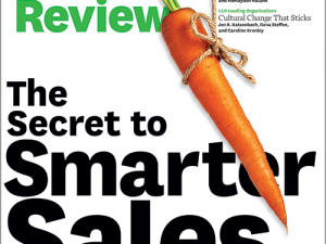 Sales quotes from HBR