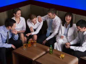 Team building–even at happy hour