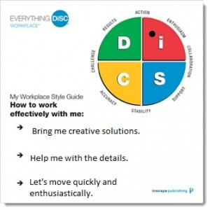 Examples of 12 DiSC personality types