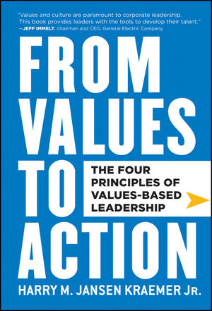 Kraemer's From Values to Action book cover