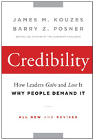 Credibility, by Kouzes and Posner– great for new leaders