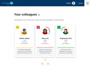 Your colleagues on the Catalyst platform