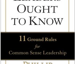 Leaders Ought to Know: a book review