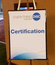 My experience with Everything DiSC Certification