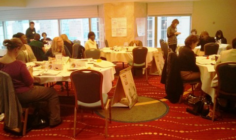 Everything DiSC Certification training session during a break