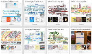 DiSCProfile.com's Pinterest page