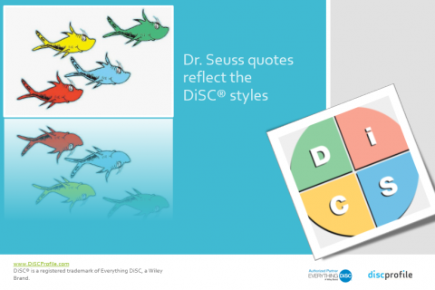 Dr. Seuss reflects DiSC styles