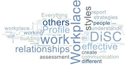 Everything DiSC Workplace word cloud