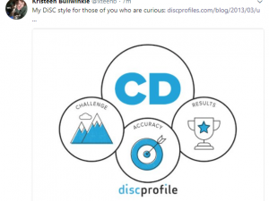 Share your DiSC® style priorities