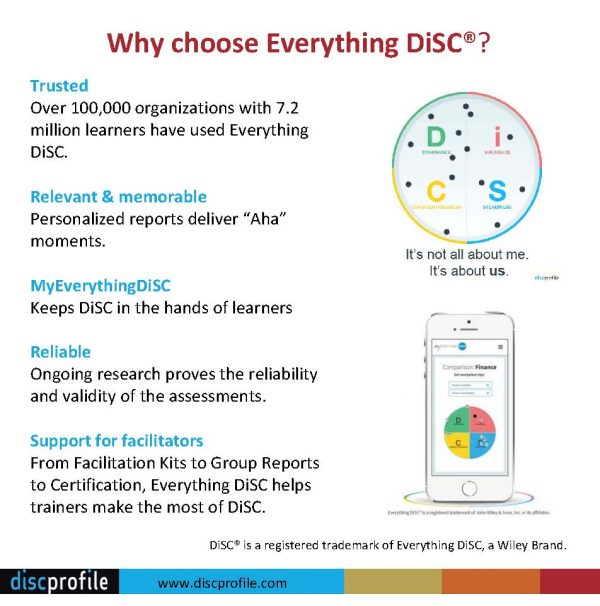Why use Everything DiSC