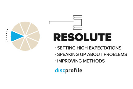 DiSC: Resolute leadership