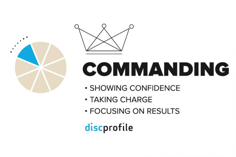 Commanding leadership dimension: DiSC