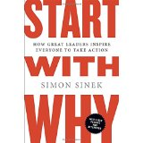 Start with Why, book cover