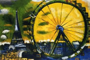 Chagall's The Big Wheel