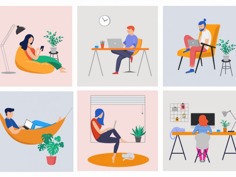 What your DiSC style might tell you about working from home