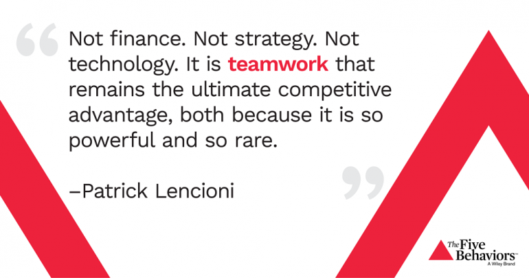 Lencioni quote
