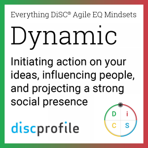 The Dynamic mindset: Initiating action on your ideas, influencing people, and projecting a strong social presence