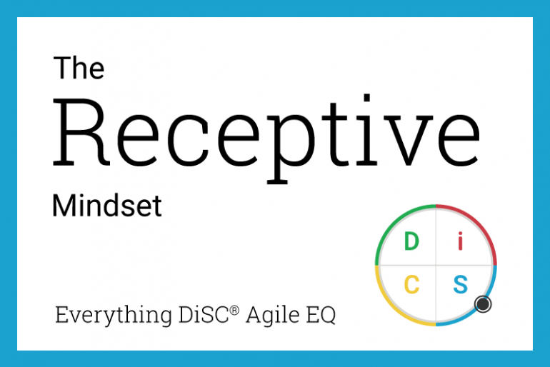 The Receptive mindset in Agile EQ